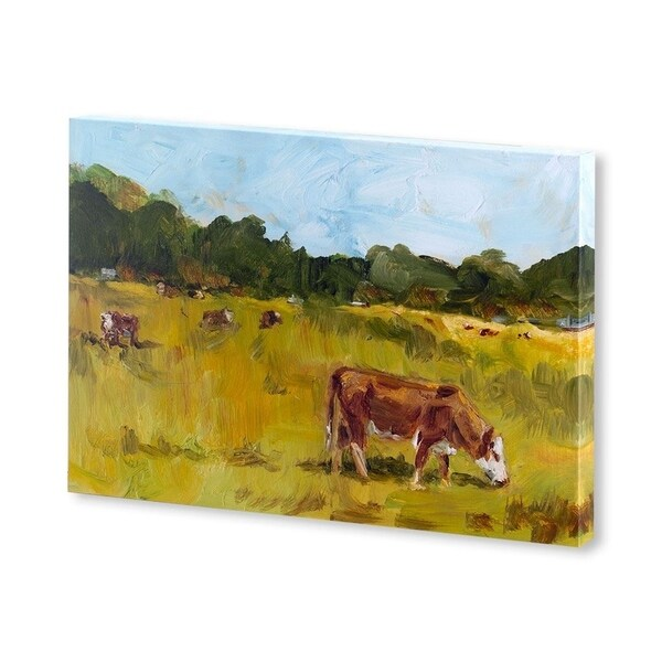 Mercana Rural View I(30 X 20) Made to Order Canvas Art