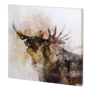 Mercana Moose Call (44 x 44 ) Made to Order Canvas Art