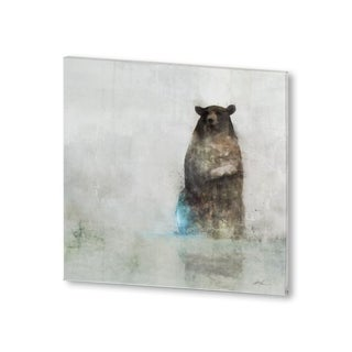 Mercana Friendly Bear (30 X 30) Made to Order Canvas Art