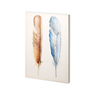 Mercana Plumage I (30 x 45) Made to Order Canvas Art