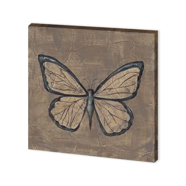 Mercana Textured Butterfly I (30 x 30) Made to Order Canvas Art