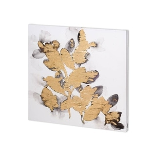 Link to Mercana Gilt Garden III (30 x 30 ) Made to Order Canvas Art Similar Items in Specialty Material Art