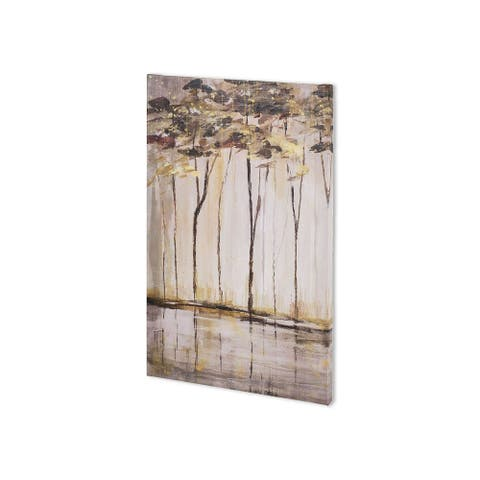 Mercana Bank of Birch I (25 x 43 ) Made to Order Canvas Art