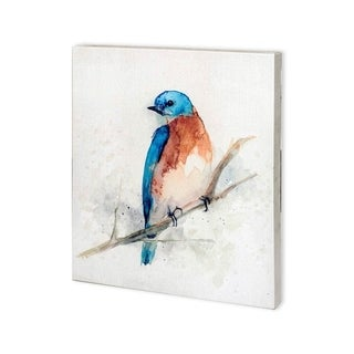 Mercana Eastern Blue II (27 x 30) Made to Order Canvas Art
