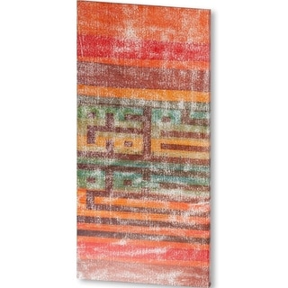 Mercana The Language of Color II (51 X 25) Made to Order Canvas Art