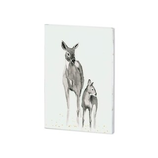Mercana White Tails I (28 x 38 ) Made to Order Canvas Art