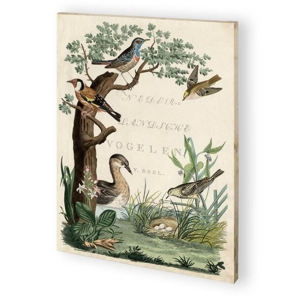 Mercana Duck Sanctuary (44 x 58) Made to Order Canvas Art