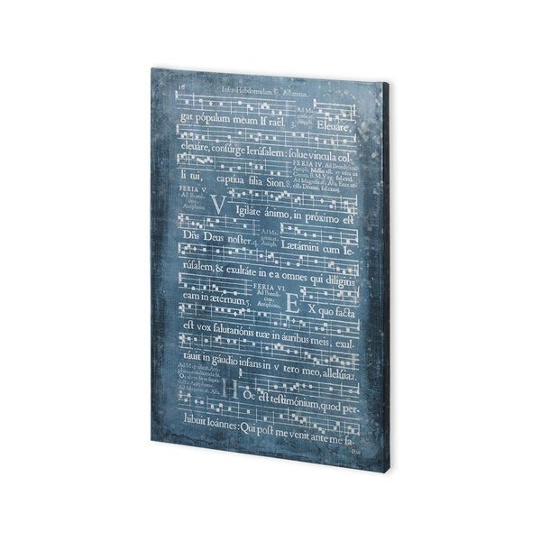 Mercana Graphic Songbook I (30 x 45) Made to Order Canvas Art