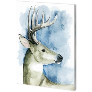 Mercana Wandering Stag II (44 x 61) Made to Order Canvas Art