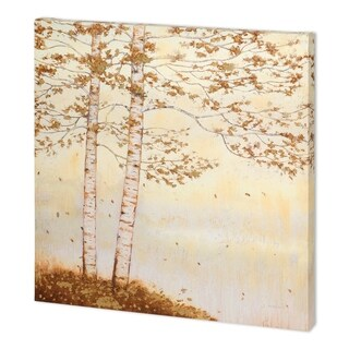 Mercana Golden Birch I Off White (44 x 44 ) Made to Order Canvas Art