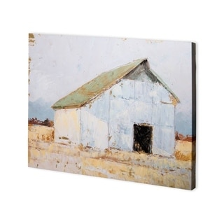 Mercana Whitewashed Barn I (40 x 30) Made to Order Canvas Art