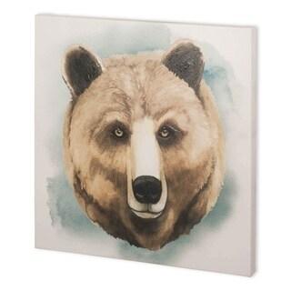 Mercana Greenwood Animals IV (44 x 44) Made to Order Canvas Art