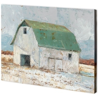 Mercana Whitewashed Barn II (55 x 41) Made to Order Canvas Art