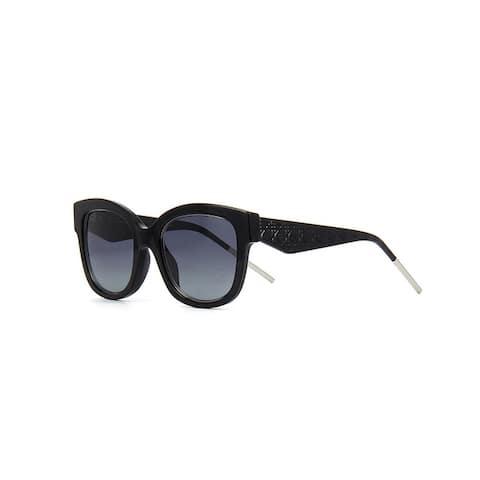 3407c8195578e Christian Dior Very Dior Women s Black Metal Frame Blue Lens Fashion  Sunglasses