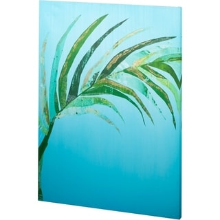 Mercana Summertime In Blue 2 (44 x 58) Made to Order Canvas Art