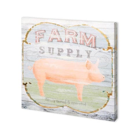 Mercana Farm Supply II (30 x 30) Made to Order Canvas Art