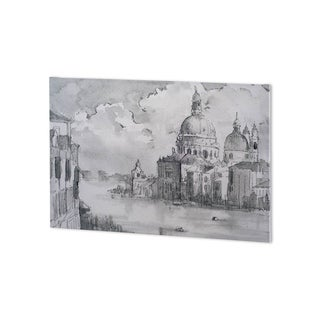 Mercana Water Side II (41 x 26 ) Made to Order Canvas Art