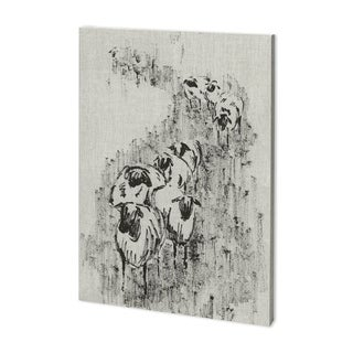 Mercana Sheep on the Way I (37 x 52) Made to Order Canvas Art