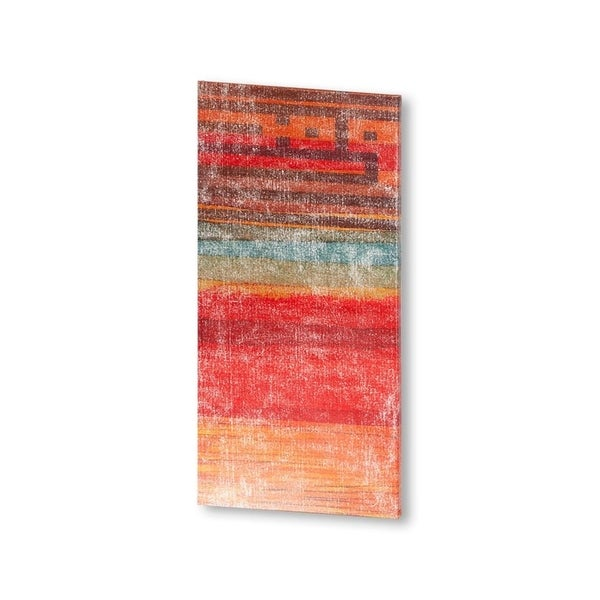 Mercana The Language of Color I (38 X 19) Made to Order Canvas Art