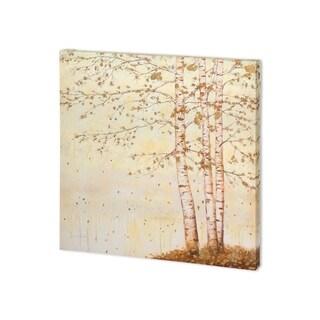 Mercana Golden Birch II Off White (30 x 30) Made to Order Canvas Art