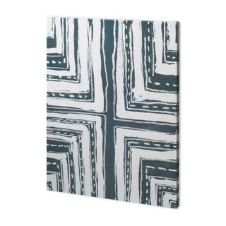 Mercana Indigo Pattern I (38 x 52) Made to Order Canvas Art