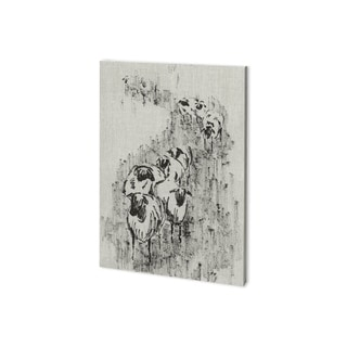 Mercana Sheep on the Way I (27 x 38) Made to Order Canvas Art