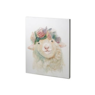 Mercana Flower Crown I (28 x 36) Made to Order Canvas Art