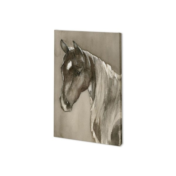 Mercana Horse Portrait II (24 x 37) Made to Order Canvas Art