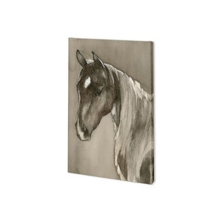Mercana Horse Portrait II (24 x 37) Made to Order Canvas Art