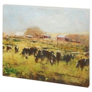 Mercana Out to Pasture II (58 x 44) Made to Order Canvas Art