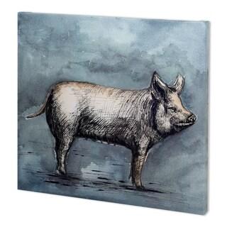 Mercana Farm Livestock III (49 x 44) Made to Order Canvas Art