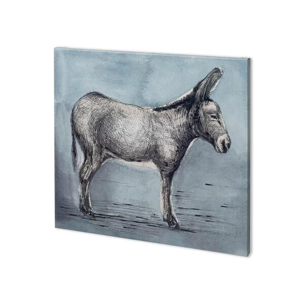 Mercana Farm Livestock I (33 x 30) Made to Order Canvas Art