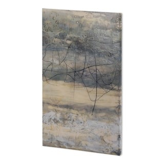 Mercana Earthen Lines II (38 x 59 ) Made to Order Canvas Art