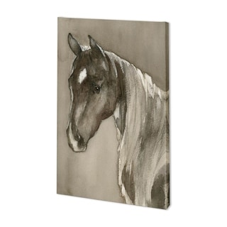 Mercana Horse Portrait II (35 x 54) Made to Order Canvas Art