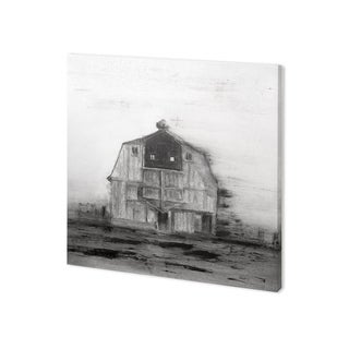 Mercana Barn House in Wind II (30 x 30) Made to Order Canvas Art