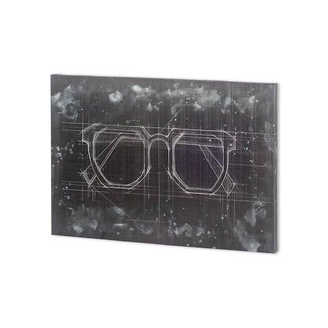 Mercana Glasses I (38 x 27 ) Made to Order Canvas Art