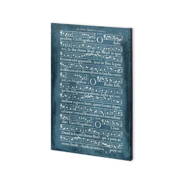 Mercana Graphic Songbook II (30 x 45) Made to Order Canvas Art