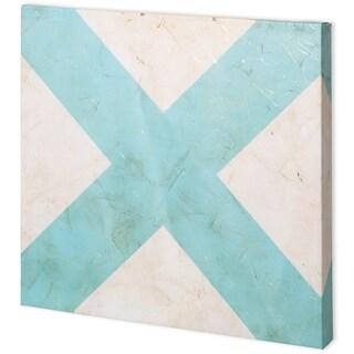 Mercana Seaside Signals III (41 x 41) Made to Order Canvas Art