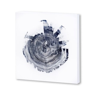Mercana Tree Ring Abstract 2 (30 X 30) Made to Order Canvas Art
