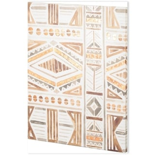Mercana Tribal Impressions II (44 x 58) Made to Order Canvas Art