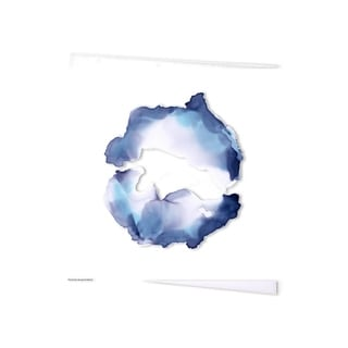 Mercana Sea Wreath II (30 x 30 ) Made to Order Canvas Art
