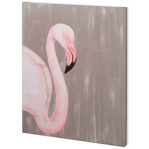 Mercana Vibrant Plumage III (44 x 55) Made to Order Canvas Art