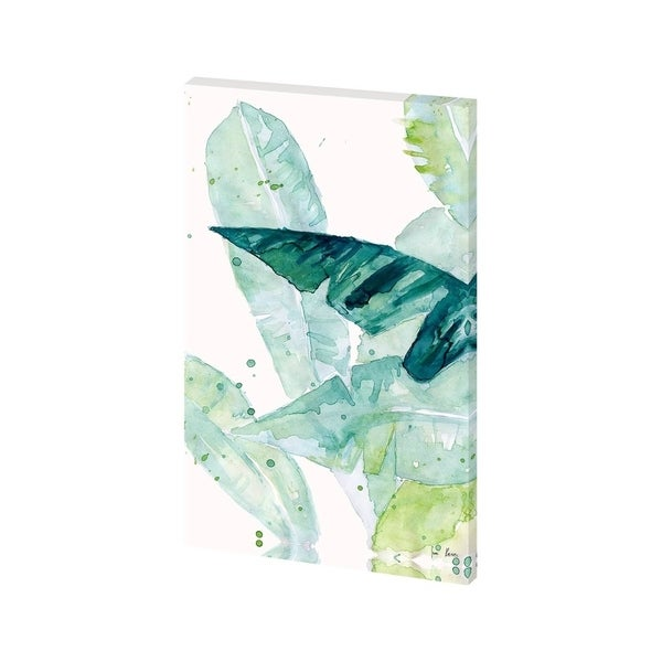 Mercana Water Color Palms II(24 X 38) Made to Order Canvas Art
