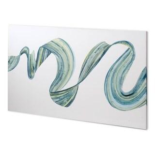 Mercana Ribbon Stream I (62 x 38) Made to Order Canvas Art