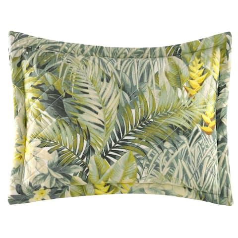 Tommy Bahama Cuba Cabana Medium Green Breakfast Pillow