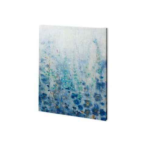 Mercana Misty Blooms I (28 x 38) Made to Order Canvas Art