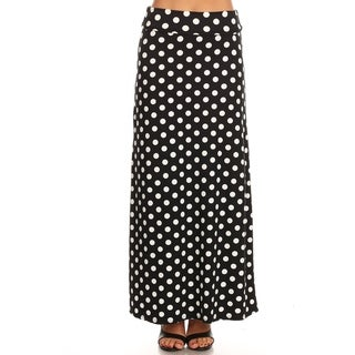 Link to Women's Casual Polka Dot and Solid Lightweight Maxi Skirt Similar Items in Athletic Clothing