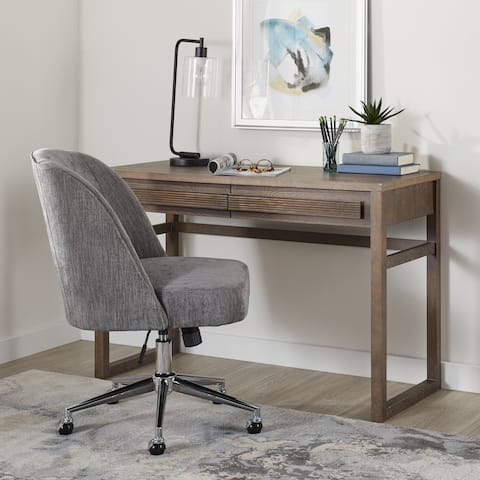 Carson Carrington Claire Grey Modern Office Chair