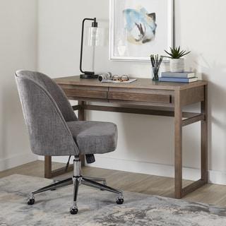 Carson Carrington Claire Grey Modern Office Chair