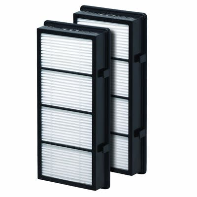Filter-Monster True HEPA Replacement for Holmes AER1 HAPF300/HAPF30 Bionaire BAP536/ BAP516 Filter, 2 Pack - White